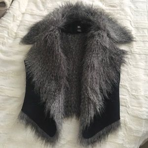 JDS Faux Fur Vest